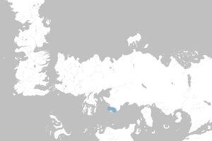 Mapa Estrecho de Ghiscar