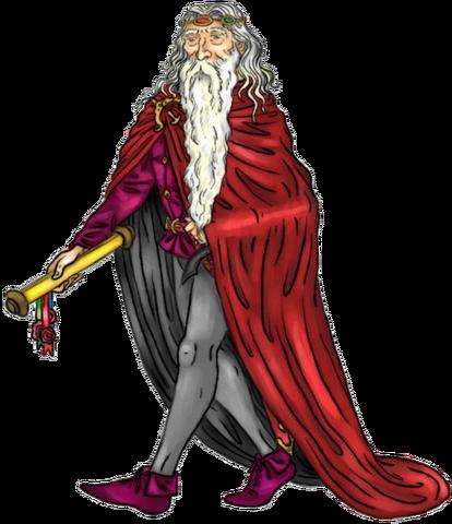 Archivo:Jaehaerys I Targaryen by Oznerol-1516©.png