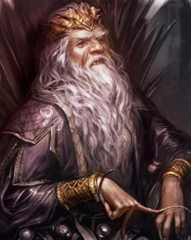 Archivo:Aerys II Targaryen by Arthur Bozonnet©.png
