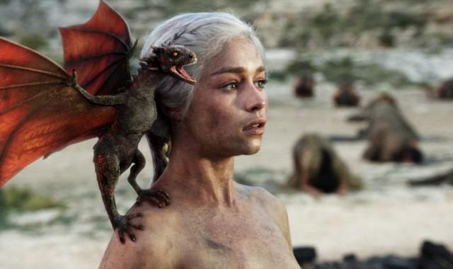 Archivo:Daenerys Targaryen y Drogon.jpg