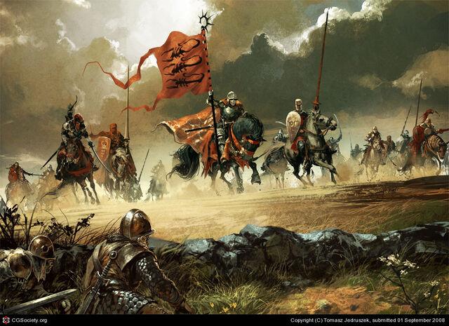 Archivo:Army of Scorpions by Tomasz Jedruzek, Fantasy Flight Games©.jpg