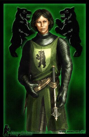 Archivo:Dacey Mormont by Amoka.jpg