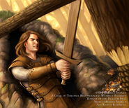 Knight of the Hollow Hill by Melissa Findley, Fantasy Flight Games©