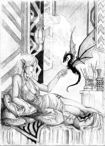 Archivo:Daenerys by Nawia©.jpg