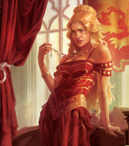 Archivo:Cersei by Jake Murray, Fantasy Flight Games©.png