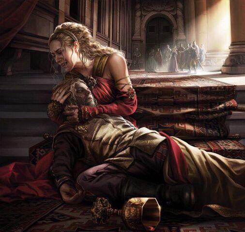 Archivo:Joffrey death by Magali Villeneuve©.jpg