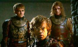 Joffrey Tyrion y Lancel HBO.jpg