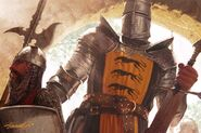 Gregor Clegane by Michael Komarck, Fantasy Flight Games©