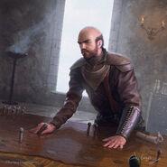 Stannis Baratheon by Joshua Cairós, Fantasy Flight Games©