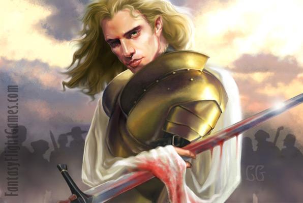 Archivo:Jaime Lannister 2 by quickreaver, Fantasy Flight Games©.jpg