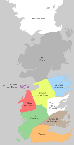 Siete Reinos post Guerra de la Conquista