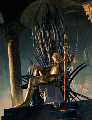 Archivo:Jaime Lannister by Michael Komarck, Fantasy Flight Games©.jpg