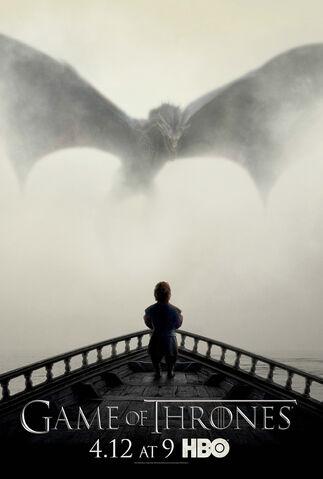 Archivo:Afiche promocional Temporada 5 GoT HBO.jpg