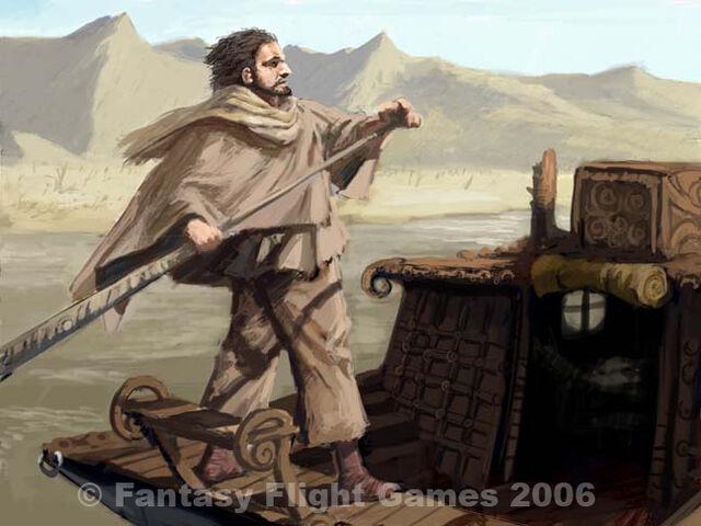 Archivo:Huerfano del sangeverde by Jonathan Standing, Fantasy Flight Games©.jpg
