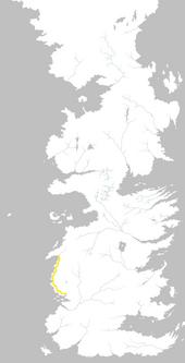 Mapa Camino del Mar