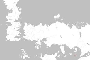 Mapa Islas de la Mantícora