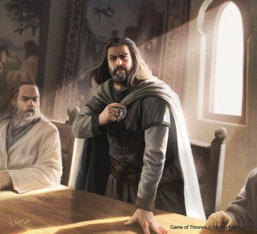 Archivo:Ned Stark by Joshua Cairós, Fantasy Flight Games©.jpg