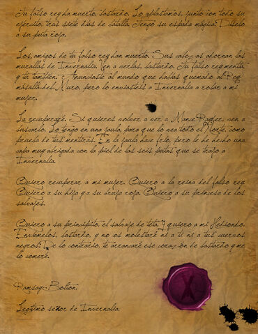 Archivo:Carta del Bastardo by Sergio Tavel©.jpg