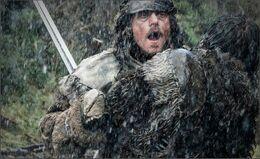 Jon Nieve mata a Orell HBO