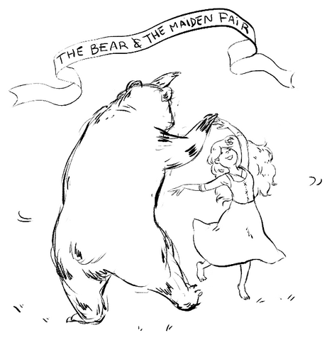 Archivo:The Bear and the Maiden Fair by Juliana P©.png
