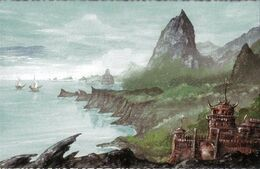 Isla Zarpa by Franz Miklis, Fantasy Flight Games©
