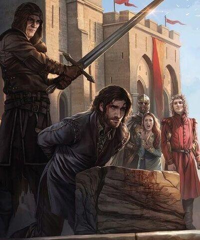 Archivo:Ejecución Eddard Stark by Magali Villeneuve©.jpg
