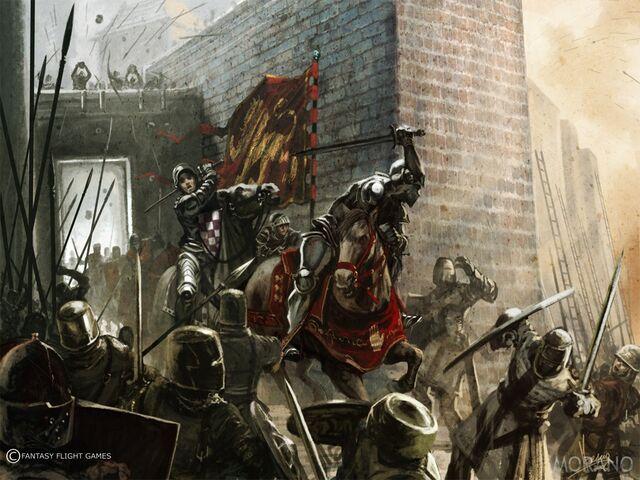 Archivo:Defenders of Kings Landing by Tomasz Jedruzek, FFG©.jpg