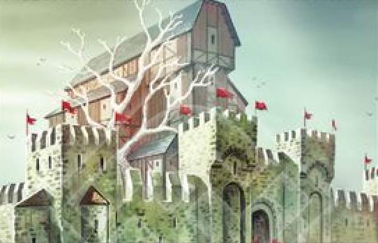 Archivo:Raventree Hall by Yoann Boissonnet, Fantasy Flight Games©.png