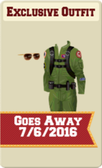 EXCLUSIVE MALE OUTFIT SIGN (WINGMAN)