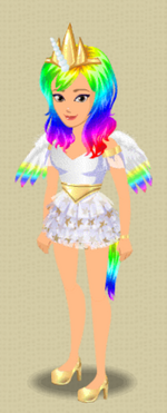 EXCLUSIVE FEMALE OUTFIT (MAGIC IS FRIENDSHIP)