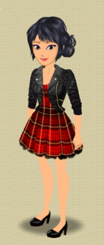 EXCLUSIVE FEMALE OUTFIT (PLAID INFLUENCE)