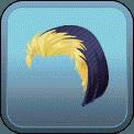 MALE SHORT HAIR BEANIE (BLONDE)