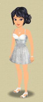 EXCLUSIVE FEMALE OUTFIT (TINSEL TOWN)