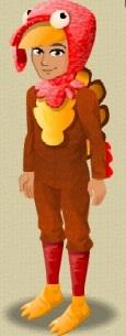 LOL Turkey Suit male