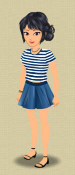 FEMALE OUTFIT (SAILOR CHIC)