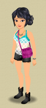 EXCLUSIVE FEMALE OUTFIT (ON THE FRINGE)