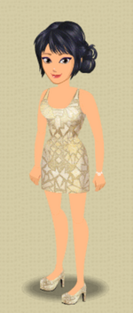 EXCLUSIVE FEMALE OUTFIT (GOLD STANDARD)