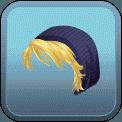 FEMALE SHORT HAIR BEANIE (BLONDE)