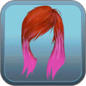 PUNK PINK DIP-DYE (RED)