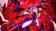 Akeno and Rias Attacked
