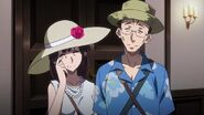 Mr and Mrs Hyoudou going on a Vacation