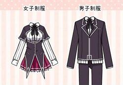 Kuoh Academy Uniforms