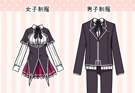 Datei:Kuoh Academy Uniforms.jpg