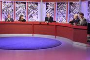 Ian Hislop, Claudia Winkleman, William Hague, Stanley Johnson and Paul Merton