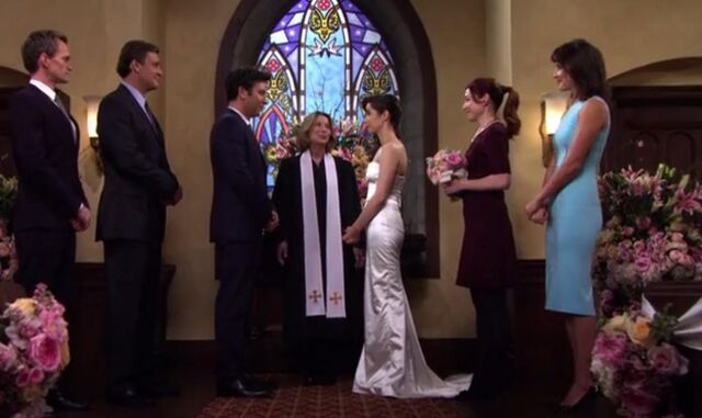 File:Ted and tracy's wedding.jpg