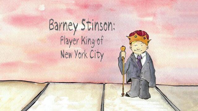 File:Barney Stinson, Player King of New York City.jpg