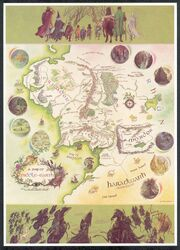 Baynes-Map of Middle-earth