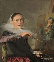 Judith Leyster-Self-Portrait