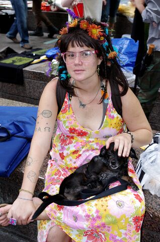 File:Hip Flower Day 8 Occupy Wall Street Sept 24 2011 Shankbone 24.JPG