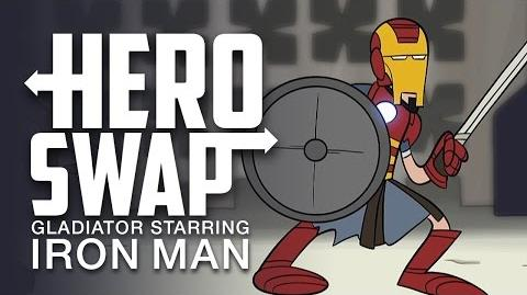 Gladiator Starring Iron Man - Hero Swap